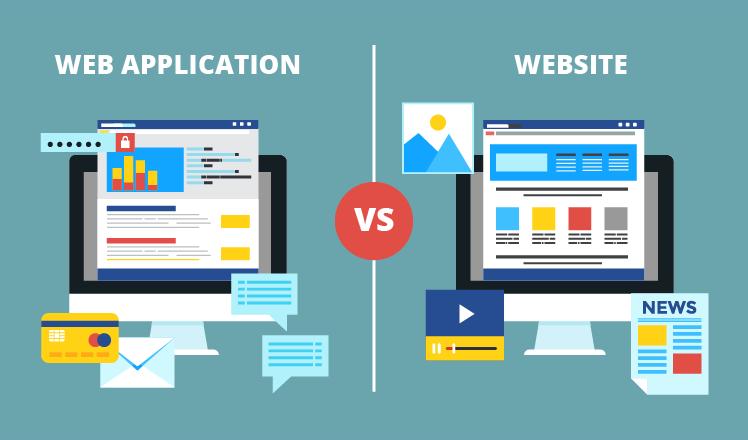 website vs wep app