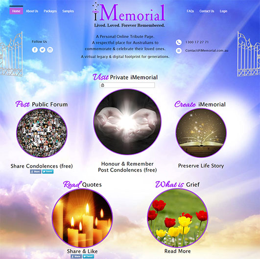 imemorial-website-development