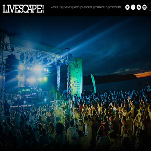 Livescape-Website Development